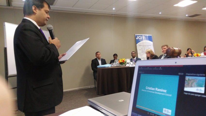 El Caaguaceño Cristian Ramírez conferencista en República Dominicana