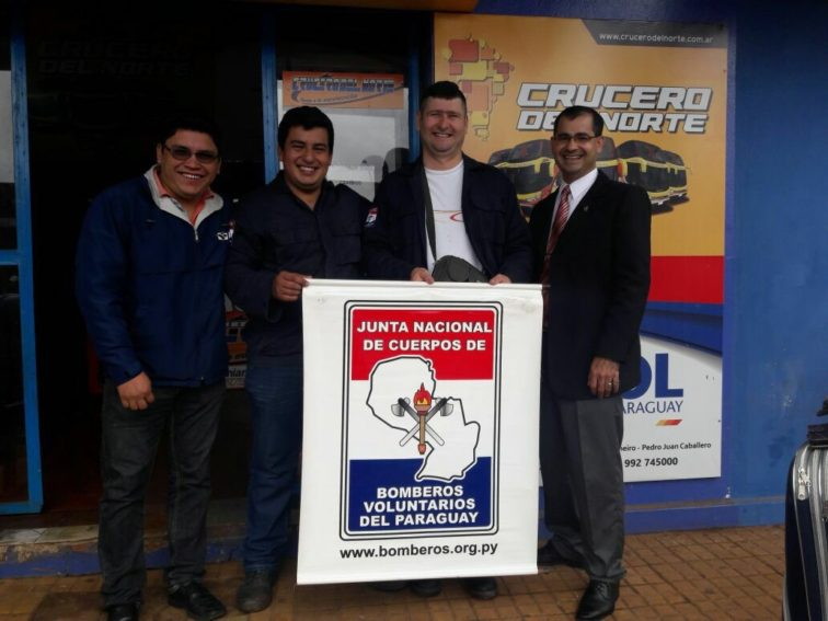 Bomberos de Caaguazú se capacitan en Argentina