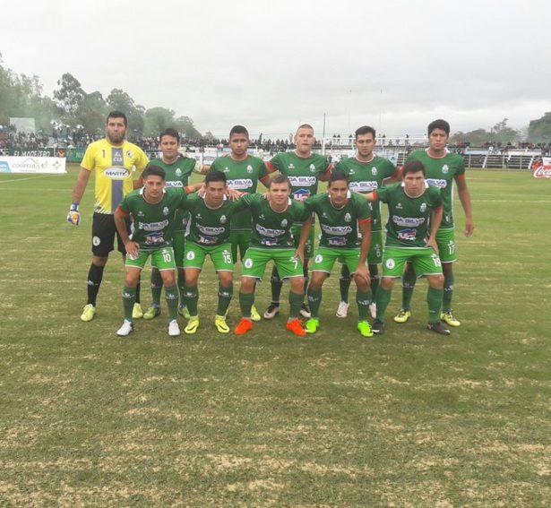 Intermedia: El Deportivo Caaguazú logra un empate de visita