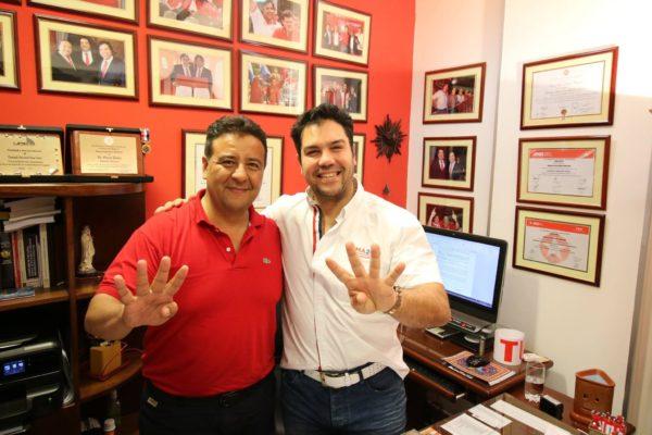 Ulises Ovelar desmiente rumor sobre renuncia de su precandidatura