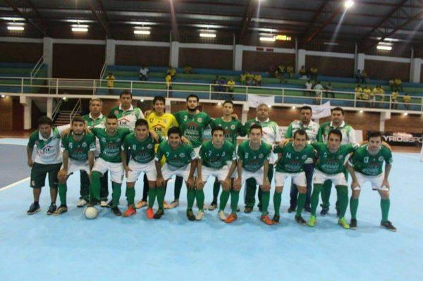 Nacional de Salonismo:  Empate en debut de Caaguazú