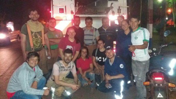Bomberos de Caaguazú logran controlar incendio forestal en YHU