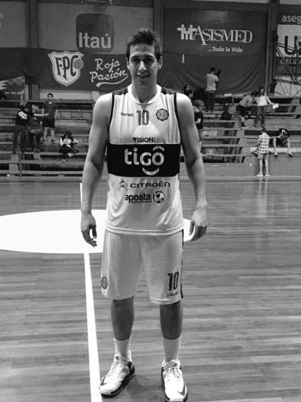 Caaguaceño en final de basquetbol entre Olimpia y Libertad