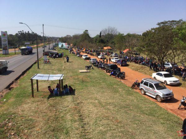 Huelga: docentes se movilizan en Caaguazú