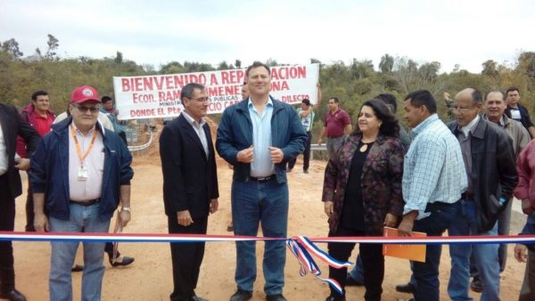 MOPC invirtió más de G. 8.000 millones en  la construcción de puentes en Caaguazú