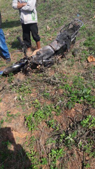 Motociclista muere tras choque con otro biciclo en Caaguazú