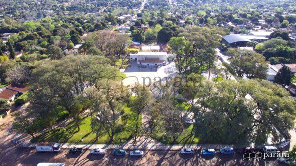 Ultiman detalles para reapertura oficial de Plaza Bartolome Aquino en Caaguazú