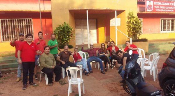 Jóvenes colorados se autoconvocan para festejar aniversario del Partido Colorado en Caaguazú