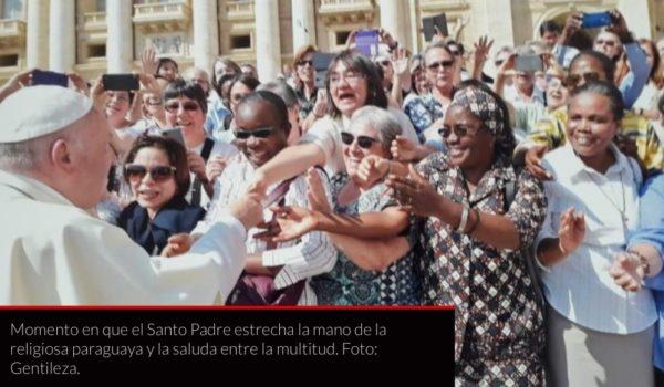 MUNDO | ¿Trajiste chipa?, preguntó el papa Francisco a una religiosa paraguaya