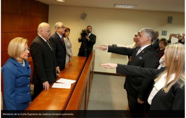 Fiscal de Caaguazu juró como Juez Penal