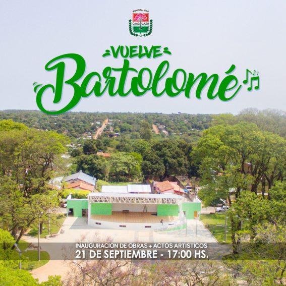 Todo listo para la habilitación oficial de la Plaza Bartolomé Aquino