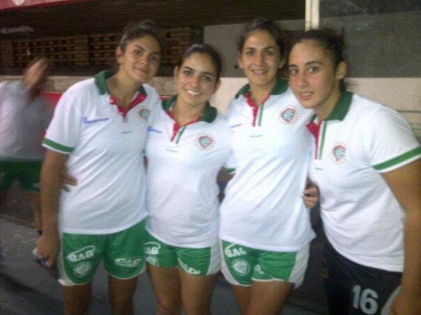 Tres Caaguaceñas debutan en el 1er Panamericano de clubes en Handbol