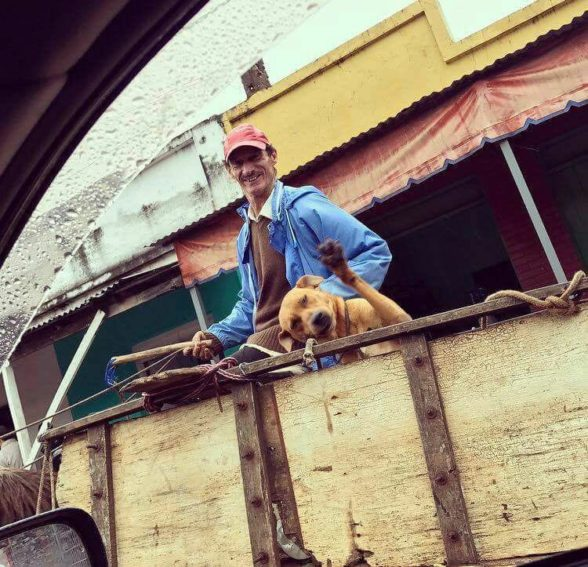 Cuando hasta tu Perro inspira buena onda!!