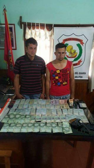 Detienen a sospechosos de Caaguazú por formar parte de banda delictiva