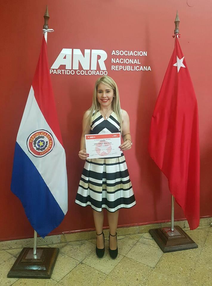 ANR oficializa candidata para comicios municipales